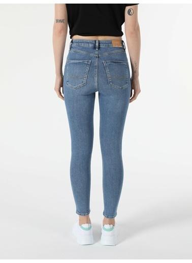 Colin's Super Slim Fit Yüksek Bel 76 Diana Kadın Jean Pantolon Renkli